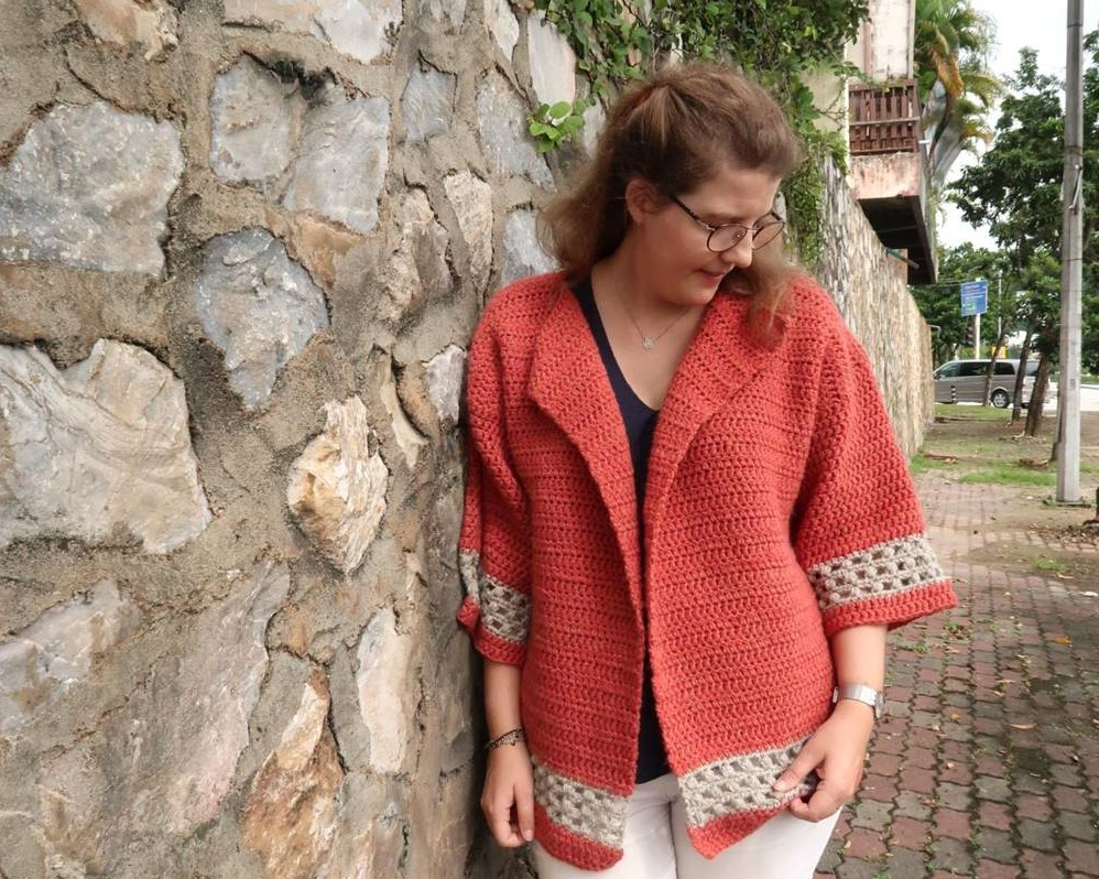 hometown crochet cardigan pattern - fall or spring crochet sweater