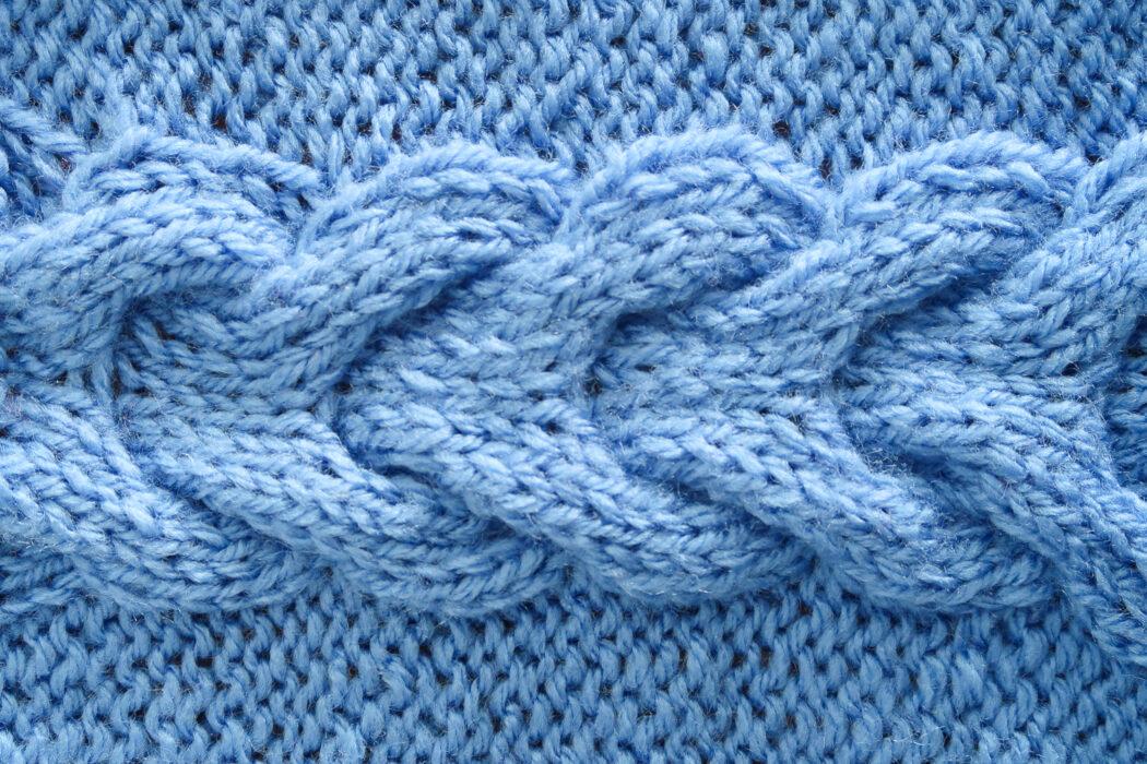 Horseshoe Cable Knit Stitch Pattern   Knitting with Chopsticks