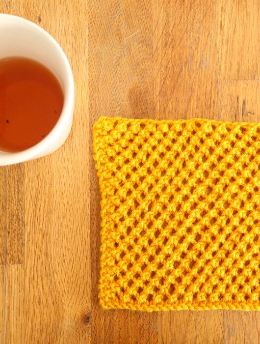 Simple Lacy Knit Stitch Pattern