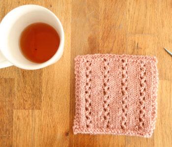 free lace knitting stitch pattern