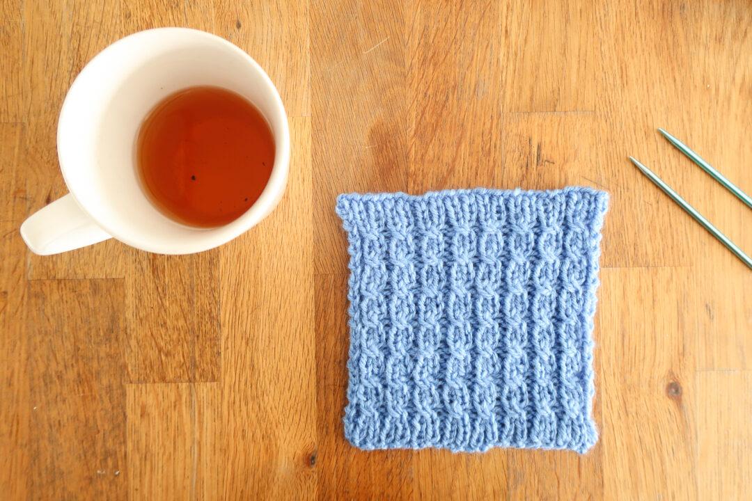 Cable Rib knitting stitch pattern