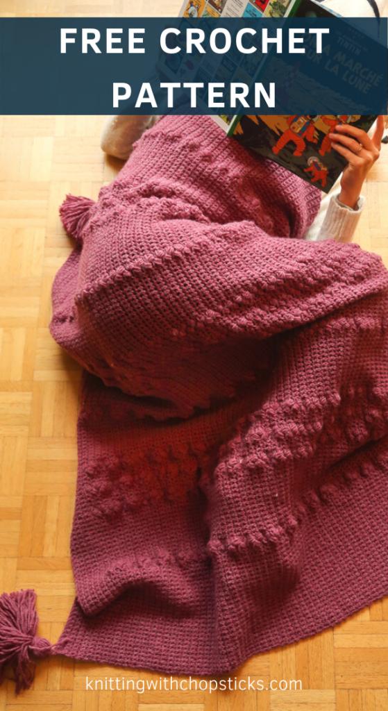 easy blanket crochet pattern