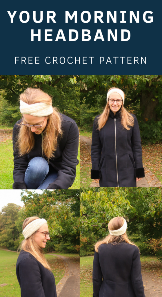 free simple crochet headband pattern