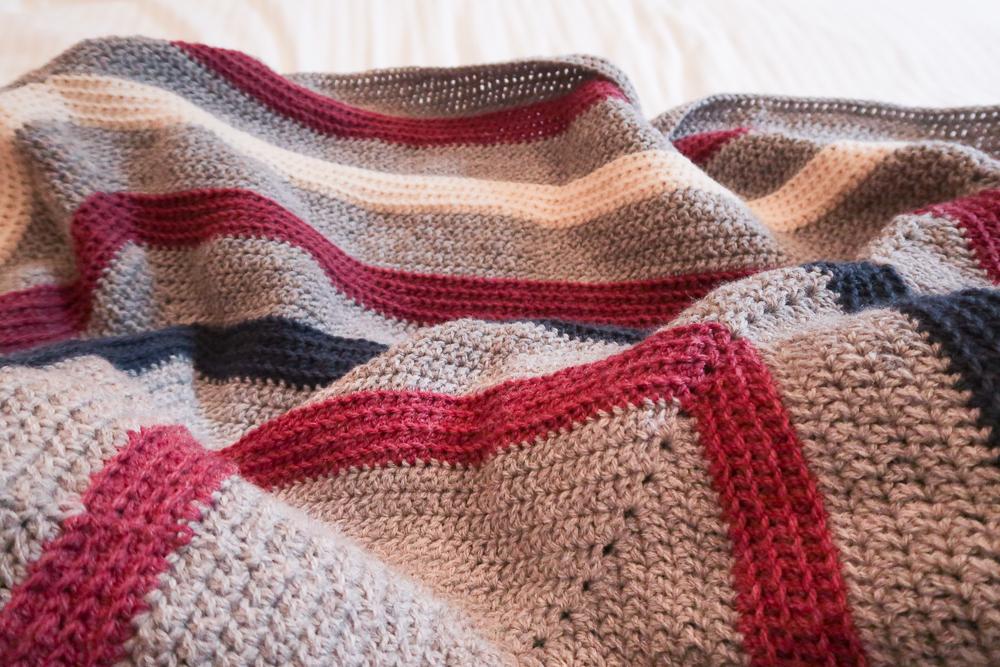 Tuesday blanket crochet pattern