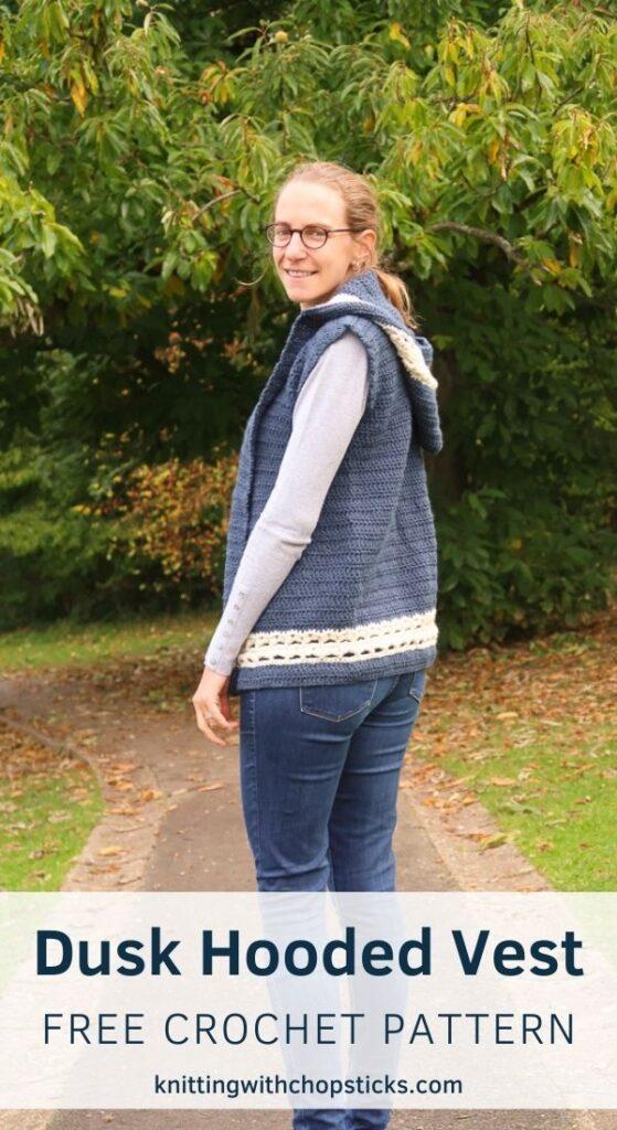 Free Hooded Vest Crochet Pattern