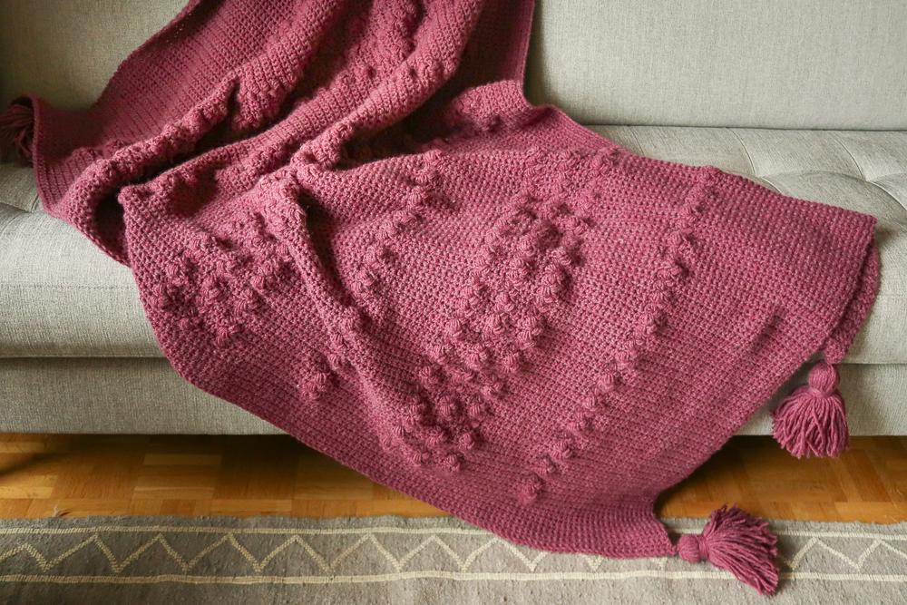 tea time crochet blanket pattern free