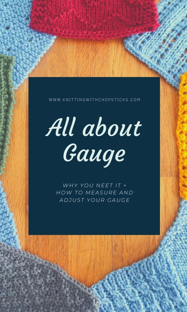 What is knitting gauge, how to use it and adjust your gauge