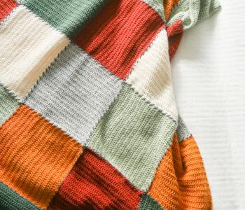 block blanket crochet pattern FREE