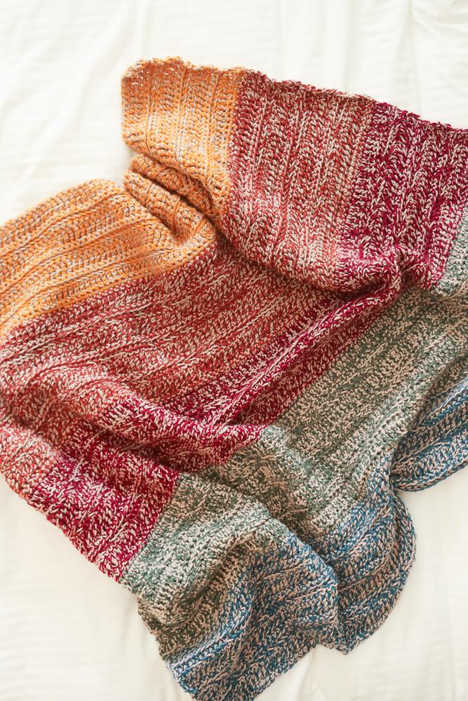 easy crochet blanket pattern impressionist blanket