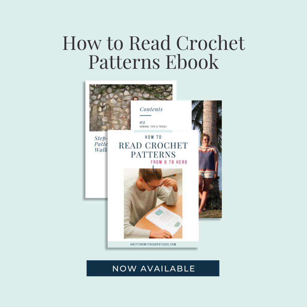 how to read crochet patterns ebook