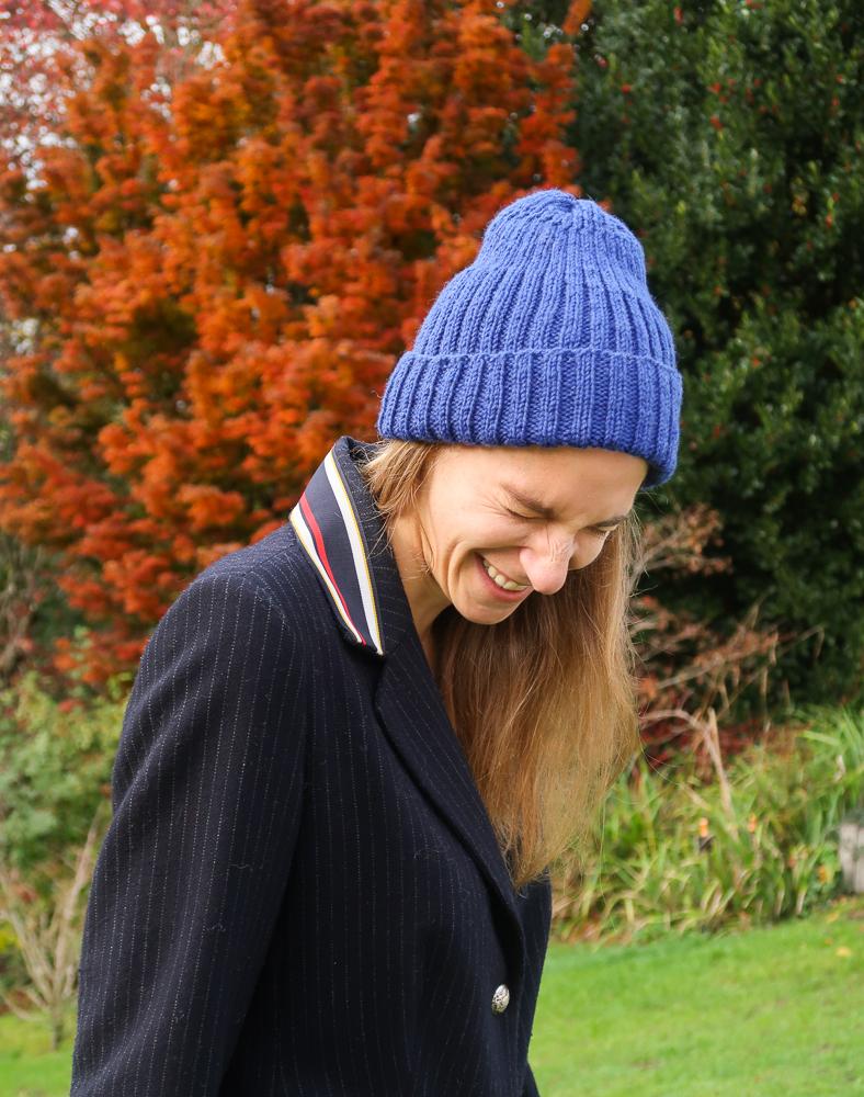 Free ribbed hat knitting pattern