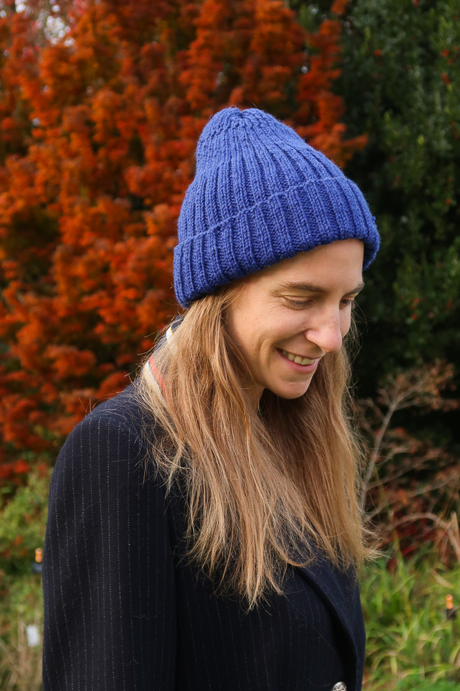 Calssic unisex ribbed hat pattern