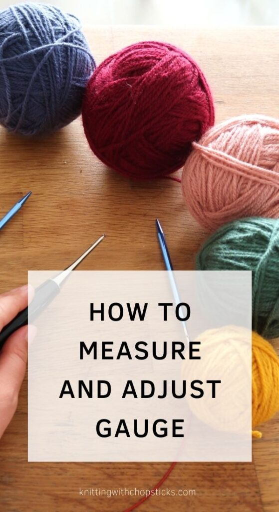 What is crochet gauge, how to use it and adjusting crochet gauge