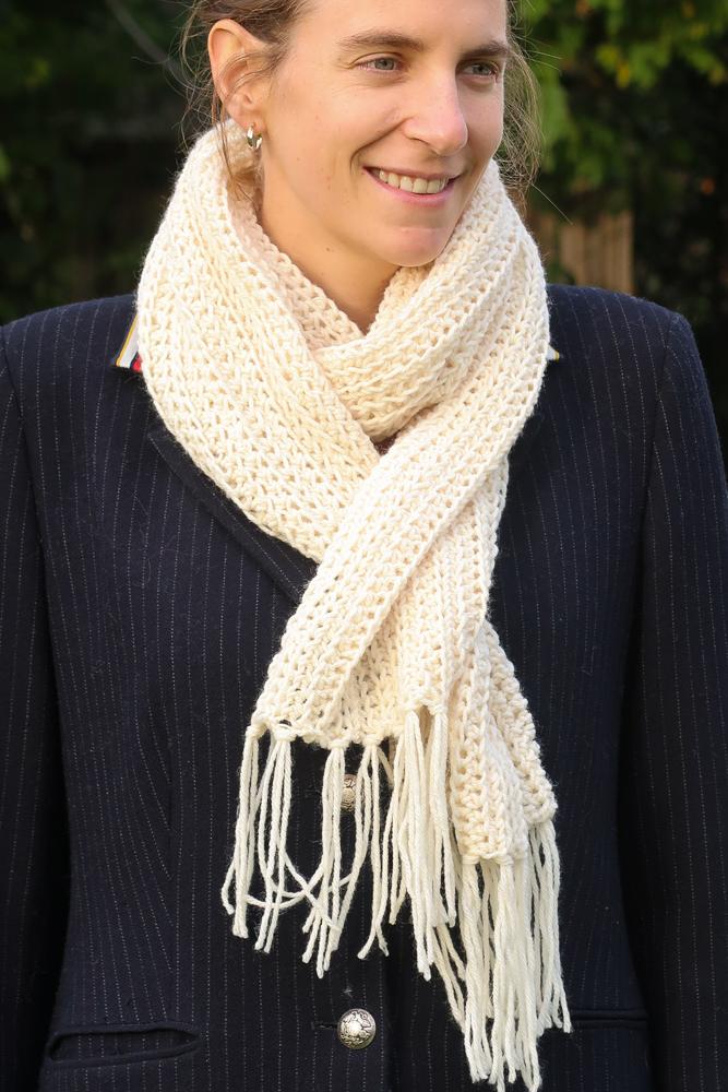 Morning Scarf crochet pattern