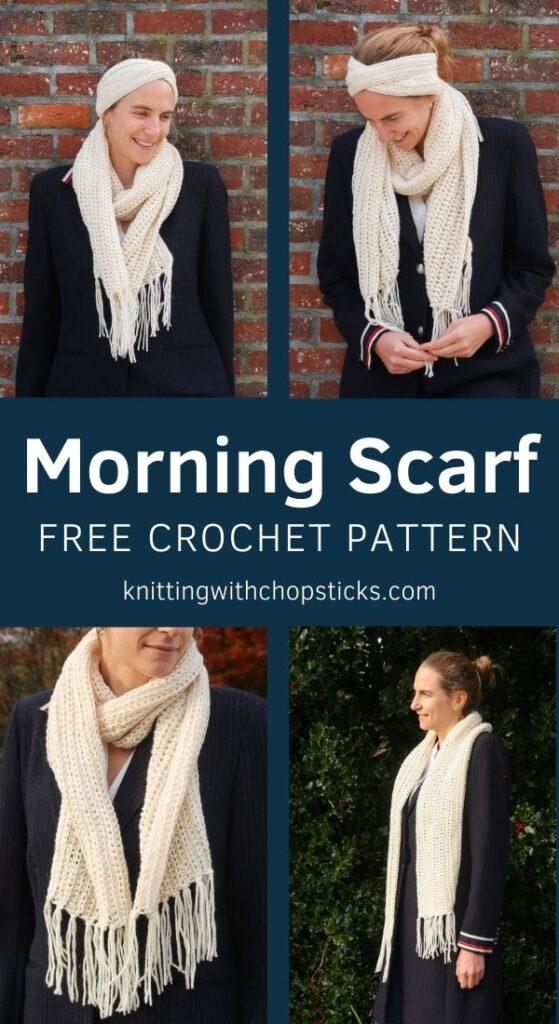 scarf crochet pattern free