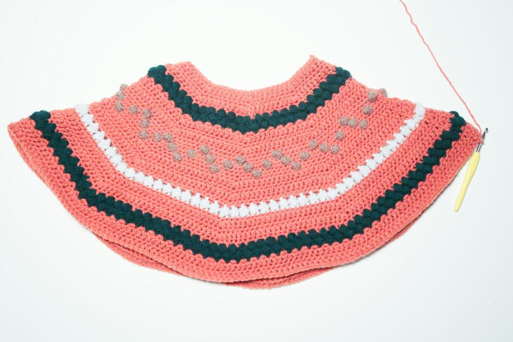 yoke for bumpy sweater crochet pattern