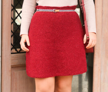 free knit skirt pattern