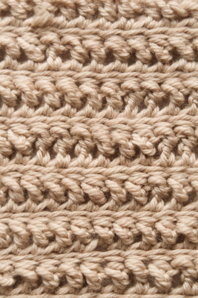 tornado crochet blanket stitch wrong side