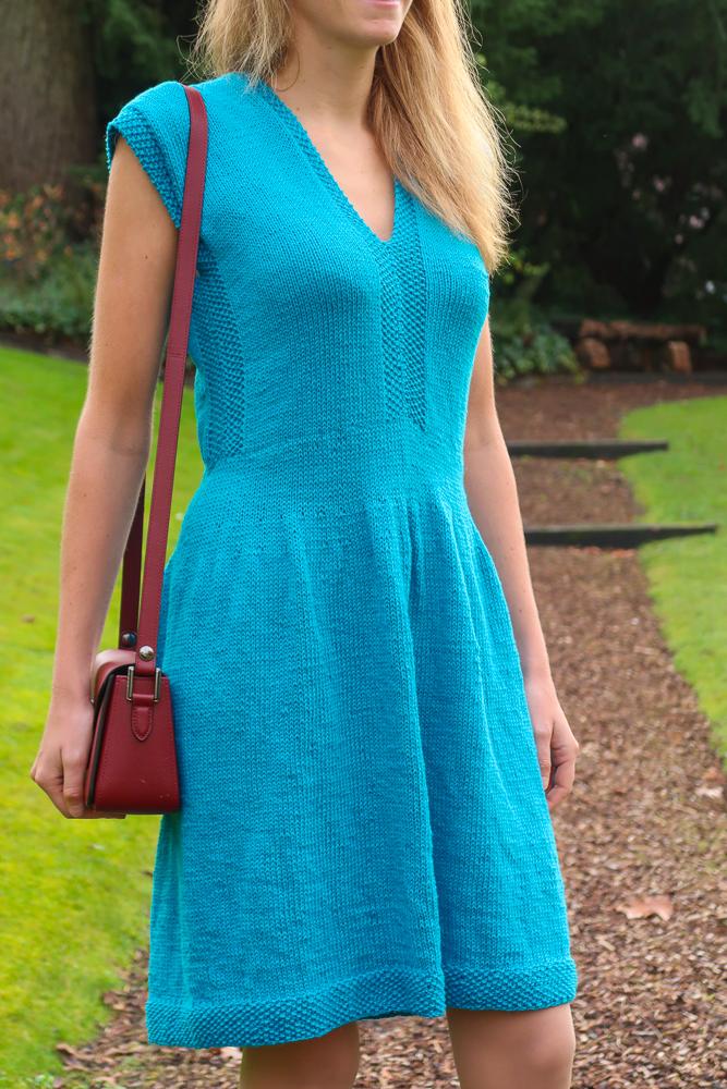 Tenggol knit dress pattern free