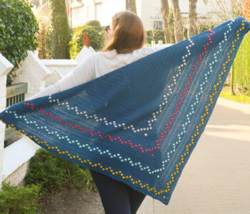 Fairy Lights Shawl Crochet Pattern FREE