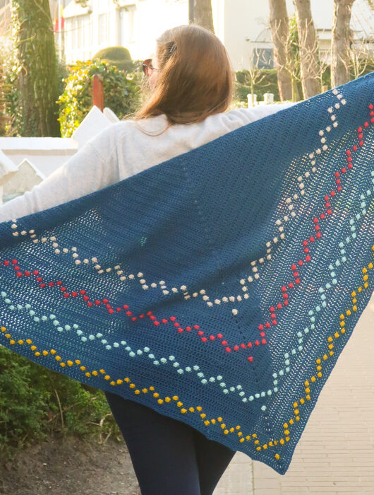 Fairy Lights Shawl Crochet Pattern FREE