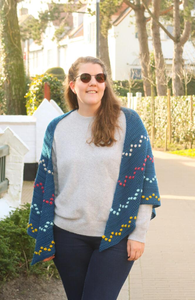 triangle shawl crochet pattern free