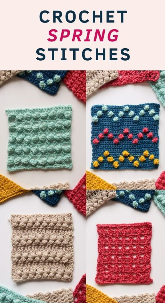16 Spring Crochet Stitch Patterns - Free tutorials
