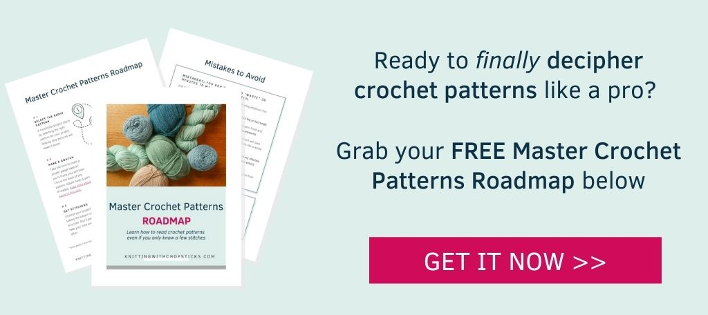 Click here to grab your free Master Crochet Patterns Roadmap