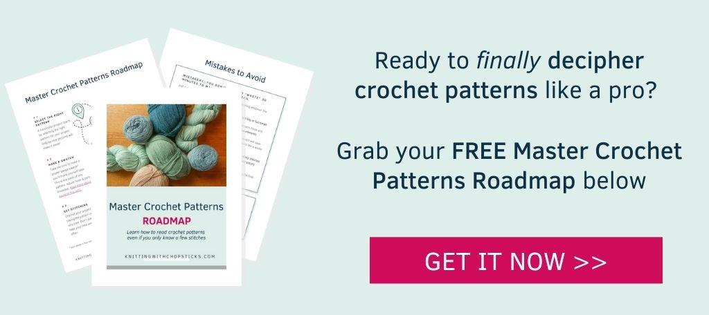 read crochet pattern roadmap