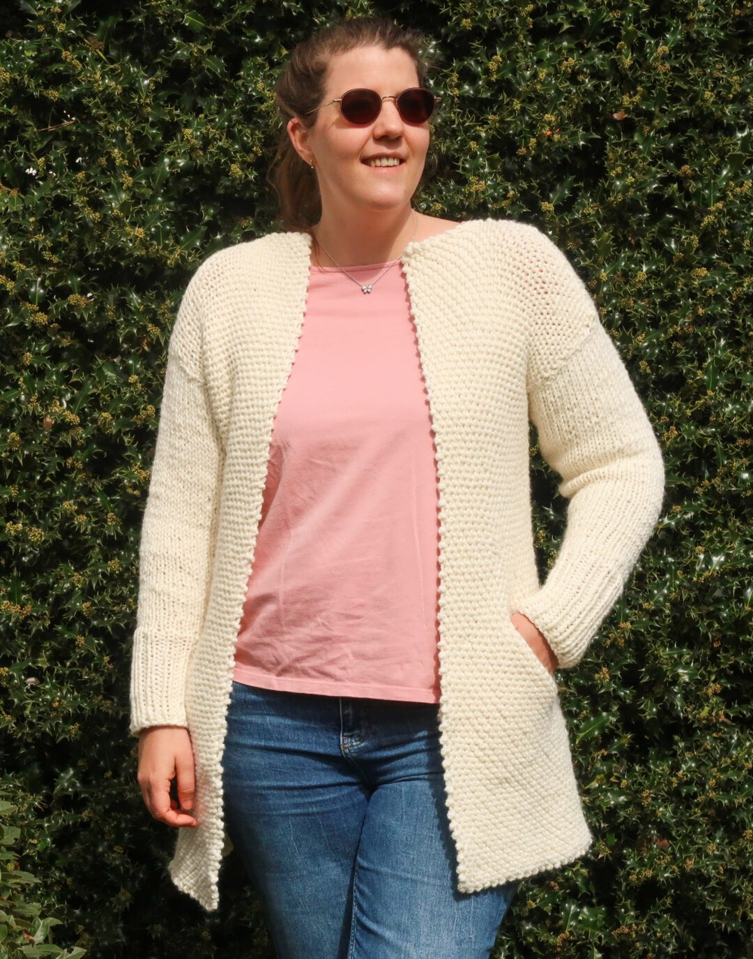 cardigan knitting pattern FREE