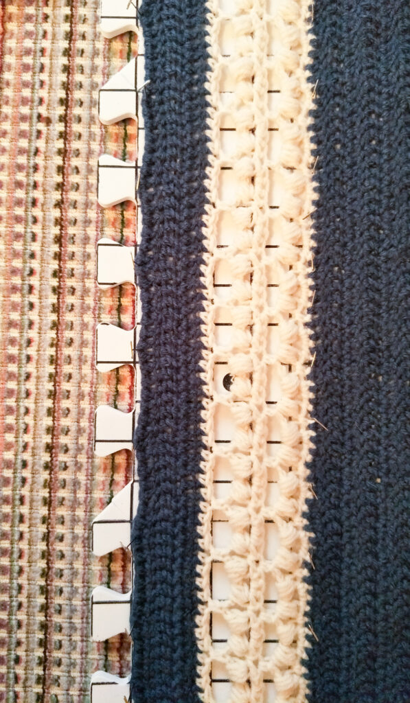 Pin your project to the blocking boards