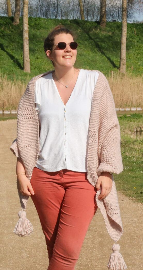 Emilia Easy Lace Shawl Knitting Pattern