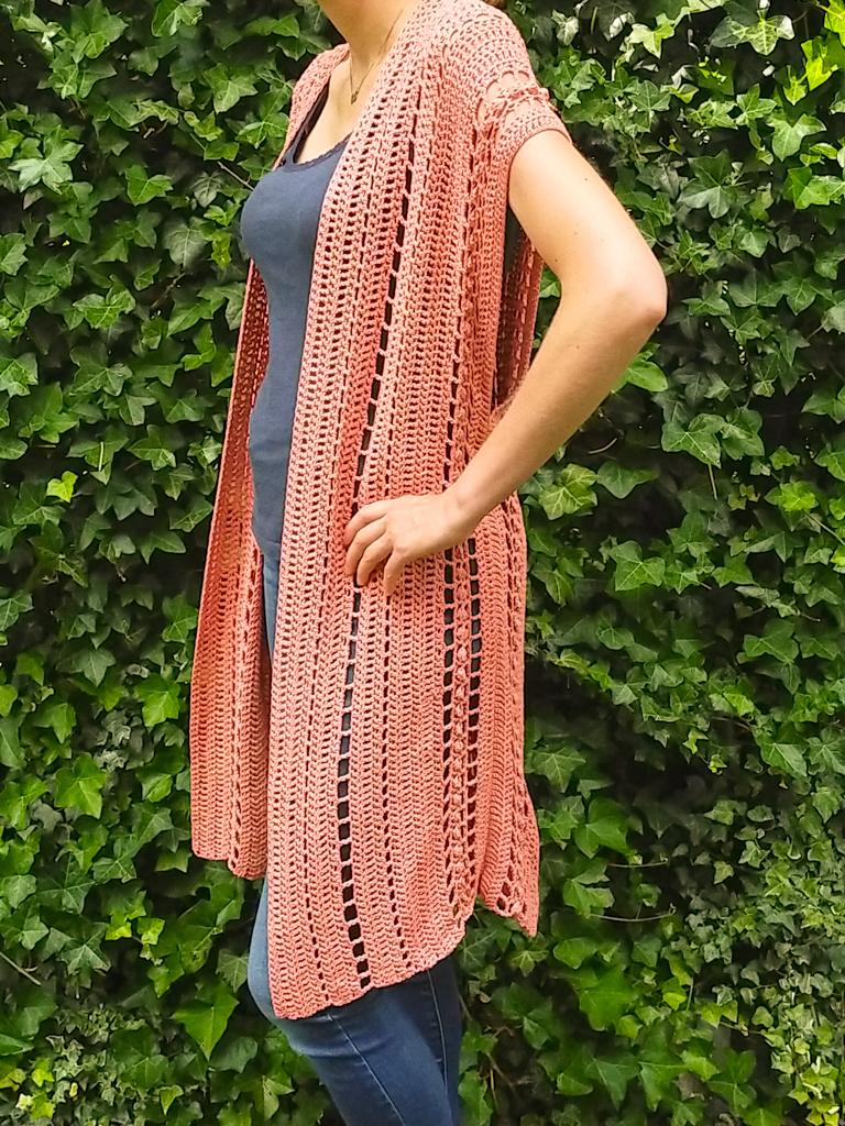 boho crochet summer cardigan pattern ARIEL CARDIGAN FREE PATTERN