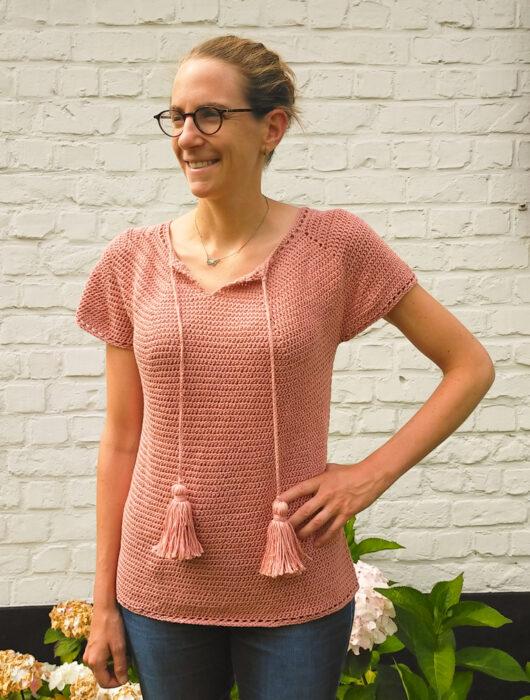 Julia free crochet top pattern