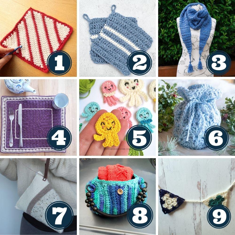 Stash busting challenge leftover yarn project ideas week 3