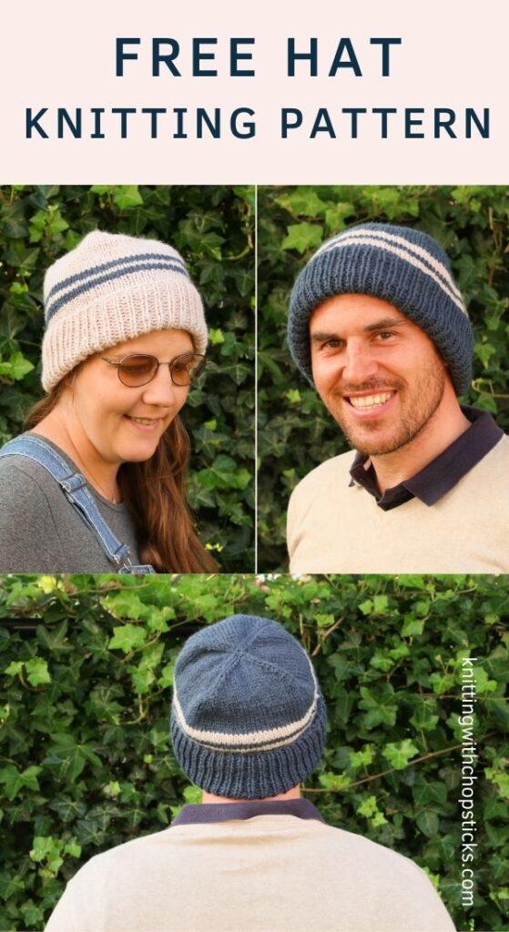 Free Alex Hat Knitting Pattern
