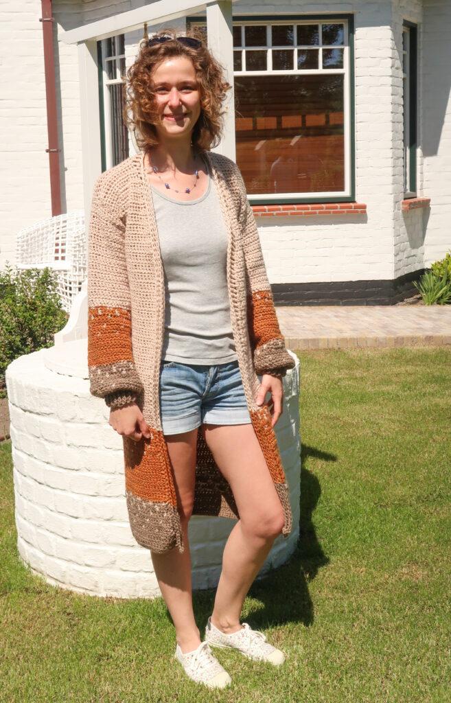 ophelia duster crochet cardigan pattern