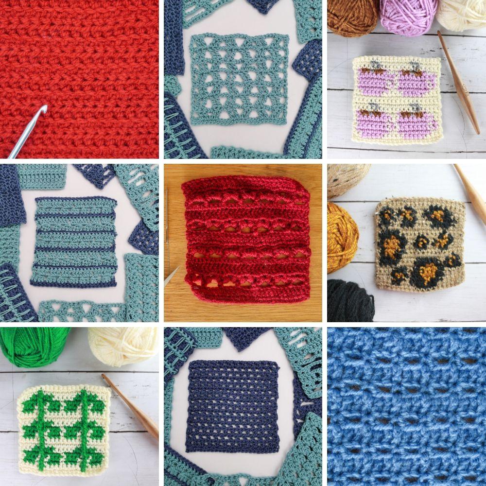 Stitch Exploration Crochet Stitch Patterns