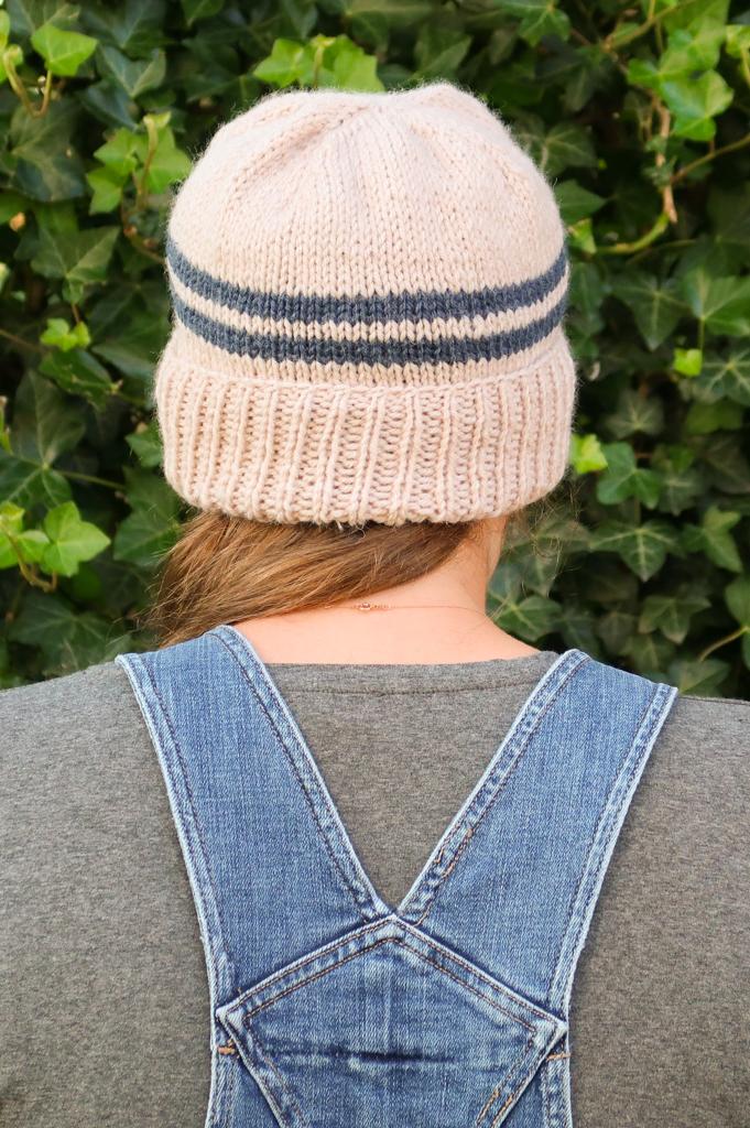 Alex men's hat knitting pattern free