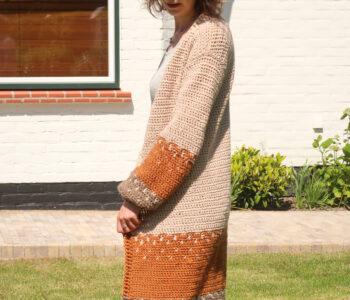 Ophelia Cardigan Crochet Pattern
