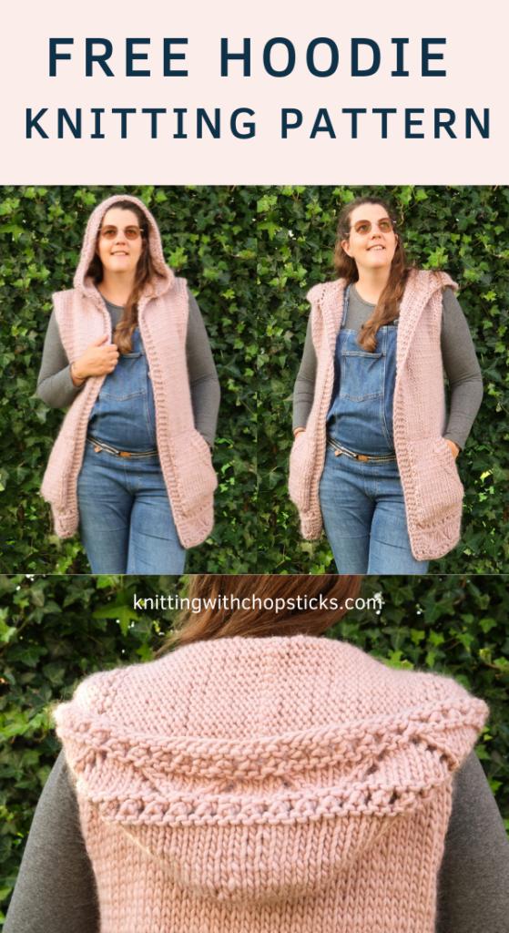 Anastasia hoodie knitting pattern FREE