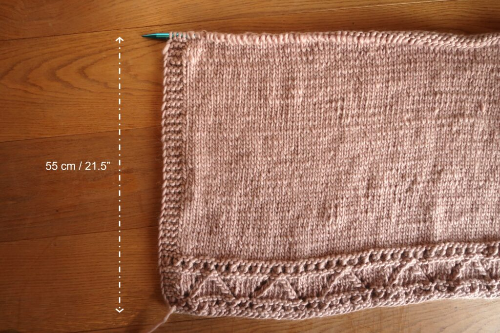 cardigan knitting pattern step by step picture